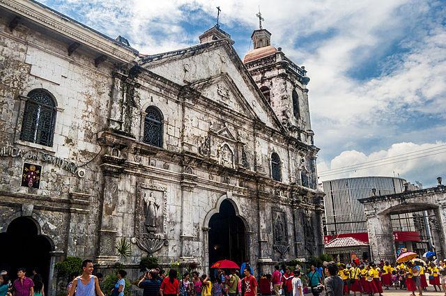 Basilica of the holy child at Cebu