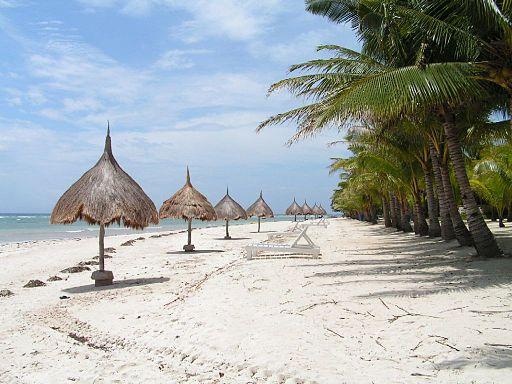 Bohol private beach