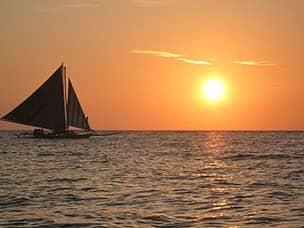 Paraw sailing