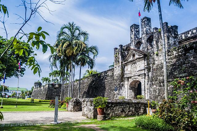 Fort San Pedro at Cebu city