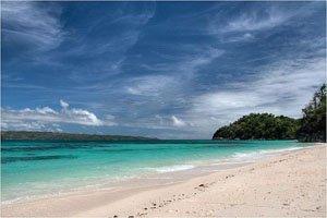 Puka beach at Boracay