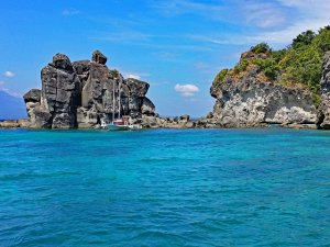 Apo island is a great diving destination