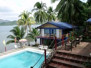 Coron beach resort