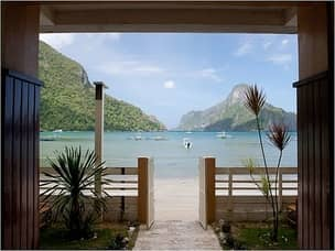 El Nido honeymoon beach resort