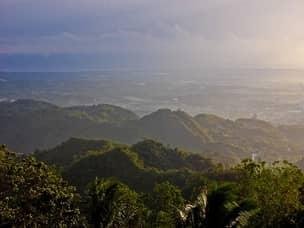 Cebu mountain view