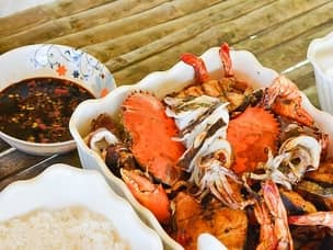 seafood Philippines vacation