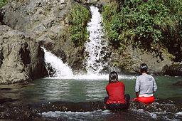 Bokong waterfall in Sagada