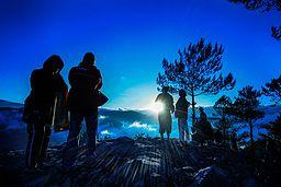 Sunrise in Sagada