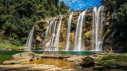Waterfalls near Siargao island