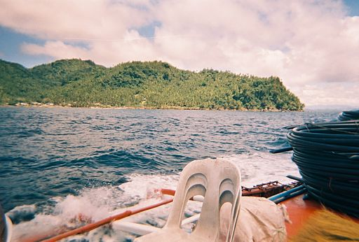 Boat view of Dinagat