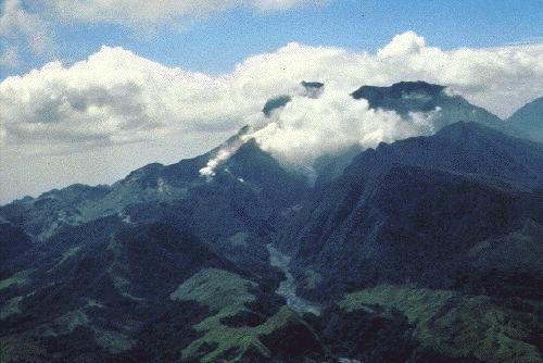 Pinatubo Volcano before eruption