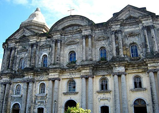Taal Basilica from outside