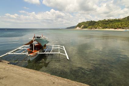 Anilao beach view