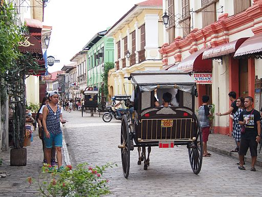 traditional Kalesa on the street