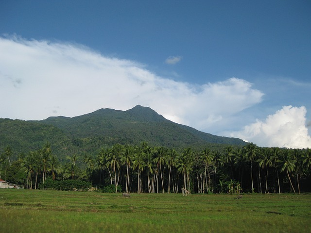 Camiguin mountains
