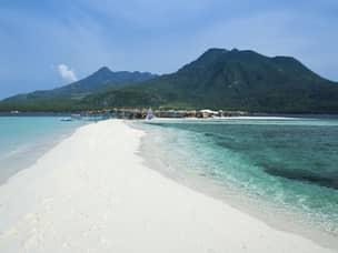 White island sandbar near Camiguin