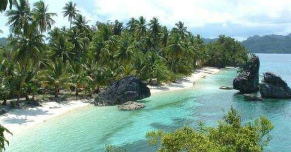 Beach at Dinagat Island