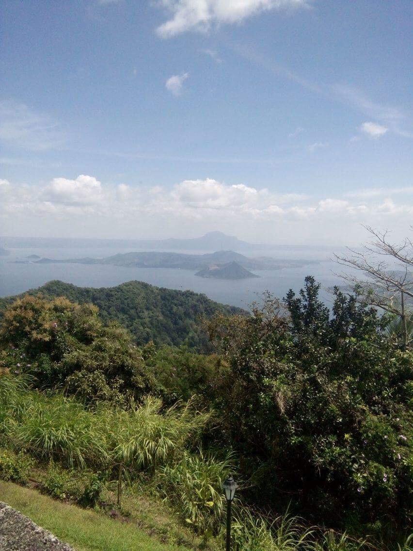 View from Tagaytay ridge