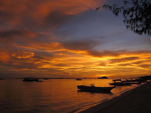 Malapascua's Bounty beach sunset