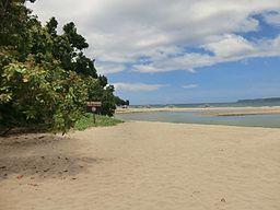 Sabang beach at Puerto Princesa