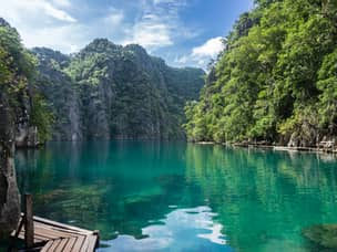 Lake Kayangan in Coron Palawan