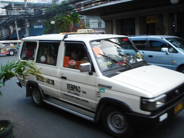 Safe Manila taxi