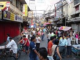 Quiapo market in Manila