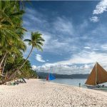 Romantic beach in Boracay