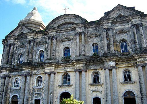Taal Basilica near Tagaytay