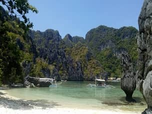 Coron hidden beach