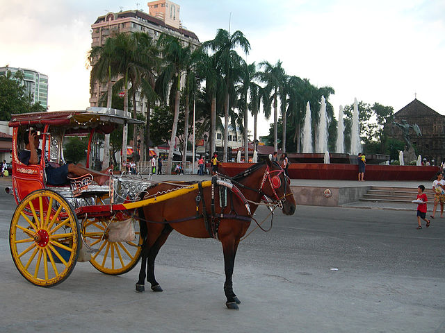 Calesa tour in Manila