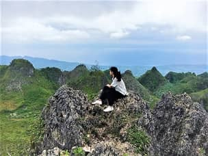 Cebu mountain view
