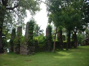 Bonbon church ruins