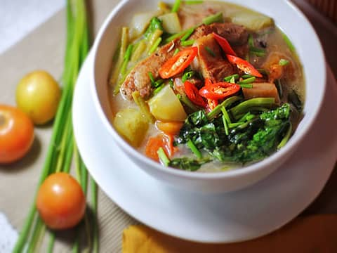 Sinigang local dish