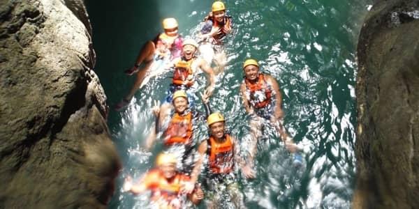 Canyoneering tour Kawasan Falls
