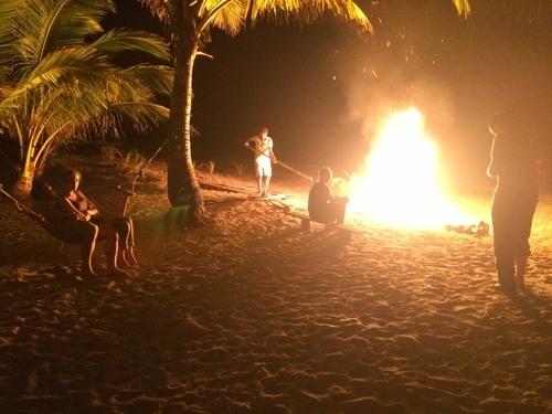 Island camping in El Nido