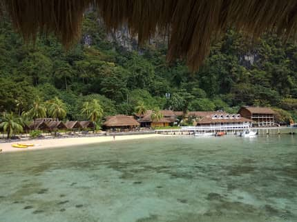 El Nido private island resort