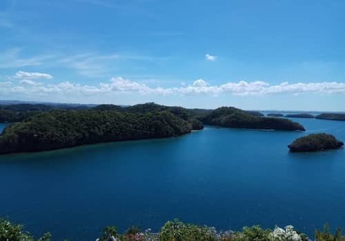 Hundred islands viewdeck
