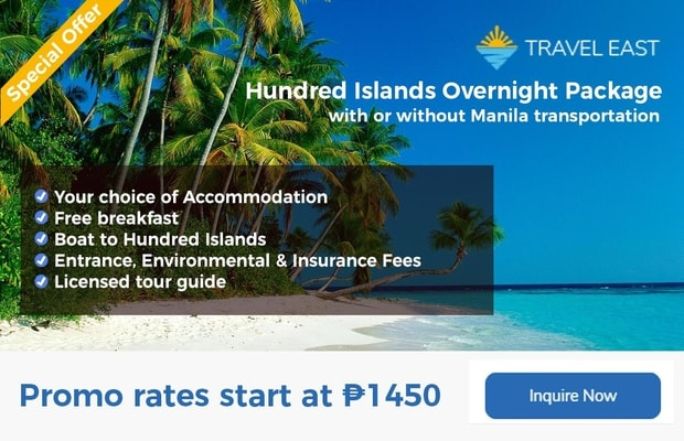 Hundred Islands promo banner