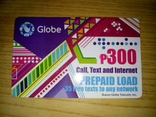 Globe load card