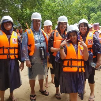 Underground river group tour