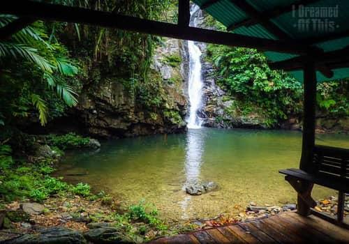 Pamuayan Falls