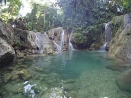 Kinahugan Falls in Bohol