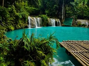 Cambugahay Falls are among the best in the Philippines