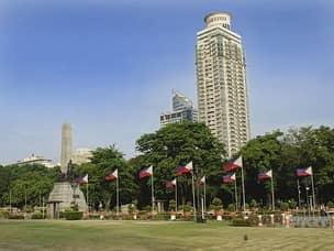 Luneta - the central park of Manila