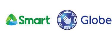Globe and Smart logos