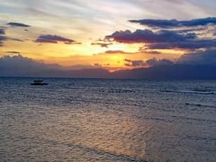 Cebu Island sunset