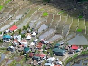 Trekking in Batad rice terraces