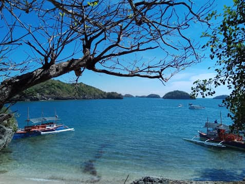 Hundred islands Marcos Beach