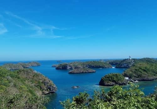 Hundred Islands National Park view